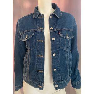 Authentic Levi's XS Denim Cropped Jacket